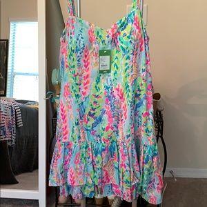 Lilly Pulitzer soooo cute dress size 12